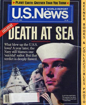 Image for U. S. News & World Report Magazine - April 23, 1990 (Exclusive - Death At Sea)