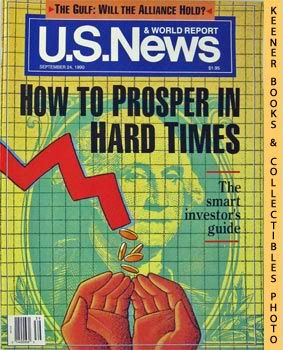 Image for U. S. News & World Report Magazine - September 24, 1990 (How To Prosper In Hard Times)