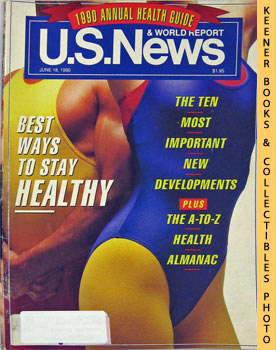 Image for U. S. News & World Report Magazine - June 18, 1990 (Best Ways To Stay Healthy)