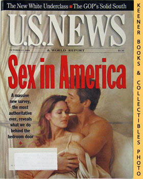 Image for U. S. News & World Report Magazine - October 17, 1994 (Sex In America)