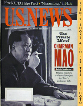 Image for U. S. News & World Report Magazine - October 10, 1994 (The Private Life Of Chairman Mao)