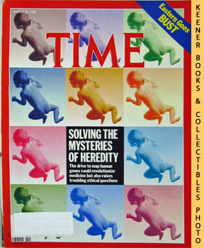 Image for Time Magazine - March 20, 1989 (Solving The Mysteries Of Heredity)