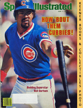 Image for Sports Illustrated Magazine, June 11, 1984 (Vol 60, No. 24) : How 'Bout Them Cubbies! - Budding Superstar Bull Durham