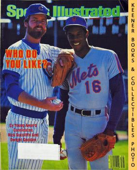 Image for Sports Illustrated Magazine, September 24, 1984 (Vol 61, No. 15) : Who Do You Like? Cy Young Award Candidates Rick Sutcliffe And Dwight Gooden