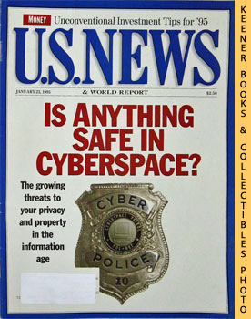 Image for U. S. News & World Report Magazine - January 23, 1995 (Is Anything Safe In Cyberspace?)