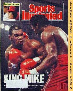 Image for Sports Illustrated Magazine, August 10, 1987 (Vol 67, No. 6) : King Mike - Mike Tyson Heavyweight Champ