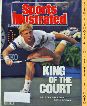 Image for Sports Illustrated Magazine, September 18, 1989 (Vol 71, No. 12) : King Of The Court - U. S. Open Champion Boris Becker