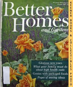 Image for Better Homes And Gardens Magazine (February 1961 Vol. 39, No. 2 Issue)