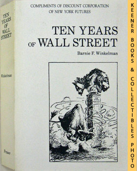 Image for Ten Years Of Wall Street