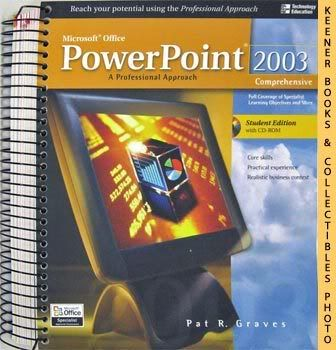 Image for Microsoft Office Powerpoint 2003 (A Professional Approach Comprehensive - Student Edition With CD - ROM)