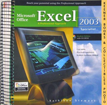 Image for Microsoft Office Excel 2003 (A Professional Approach Specialist - Student Edition With CD - ROM)