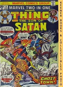 Image for Marvel Two-In-One - The Thing And The Son Of Satan (Vol. 1, No. 14, March, 1976)