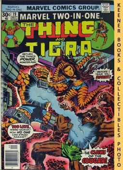 Image for Marvel Two-In-One - The Thing And Tigra (Vol. 1, No. 19, Sept, 1976)