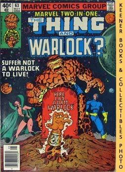 Image for Marvel Two-In-One - The Thing And Warlock? (Vol. 1, No. 63, Nov, 1980)