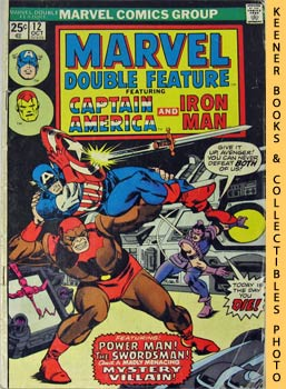 Image for Marvel Double Feature - Captain America And Iron Man (Vol. 1, No. 12, October, 1975)