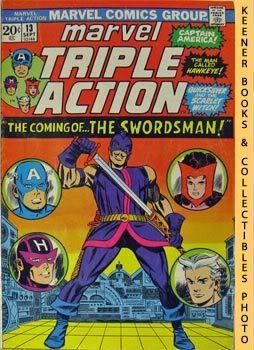 Image for Marvel Triple Action (The Coming Of - The Swordsman! -- No. 13, September 1973)