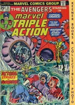 Image for Marvel Triple Action (Four Against The Floodtide! -- No. 21, October 1974)