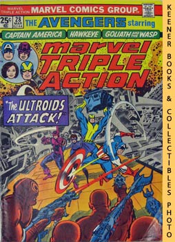 Image for Marvel Triple Action (The Ultroids Attack! -- No. 28, March 1976)