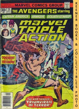 Image for Marvel Triple Action (The Torment And The Triumph! -- No. 31, September 1976)