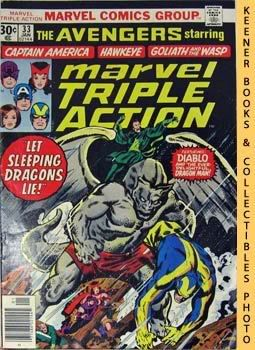 Image for Marvel Triple Action (Let Sleeping Dragons Lie! -- No. 33, January 1977)