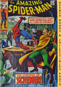 Image for Marvel The Amazing Spider-Man (The Schemer! -- Vol. 1 No. 83 April 1970)