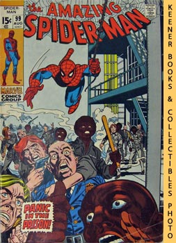 Image for Marvel The Amazing Spider-Man (Panic In The Prison! -- Vol. 1 No. 99 August 1971)