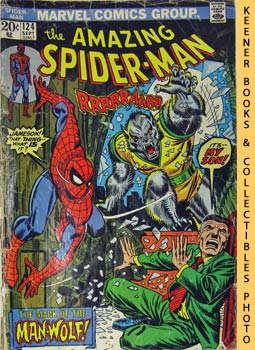 Image for Marvel The Amazing Spider-Man (The Mark Of The Man - Wolf! -- Vol. 1 No. 124 September 1973)