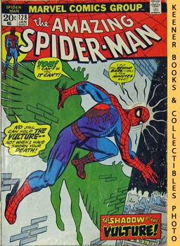 Image for Marvel The Amazing Spider-Man (The Vulture Hangs High! -- Vol. 1 No. 128 January 1974)
