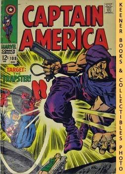 Image for Marvel Captain America (The Snares Of The Trapster! -- Vol. 1 No. 108, December 1968)