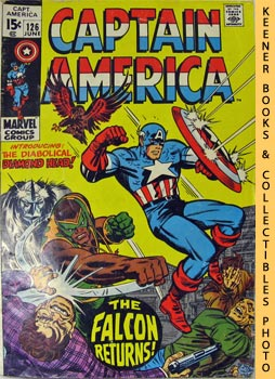 Image for Marvel Captain America (The Fate Of - The Falcon! -- Vol. 1 No. 126, June 1970)