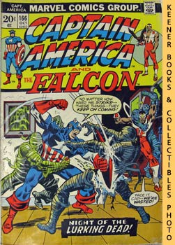 Image for Marvel Captain America And The Falcon (Night Of The Lurking Dead! -- Vol. 1 No. 166, October 1973)