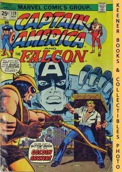 Image for Marvel Captain America And The Falcon (Slings And Arrows! -- Vol. 1 No. 179, November 1974)