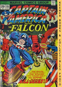 Image for Marvel Captain America And The Falcon (Kill - Derby - Pow! -- Vol. 1 No. 196, April 1976)