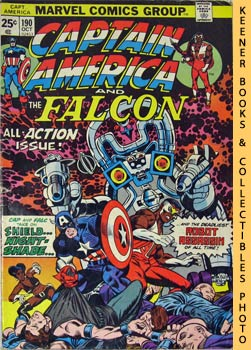 Image for Marvel Captain America And The Falcon (Nightshade Is Deadlier The Second Time Around! -- Vol. 1 No. 190, October 1975)
