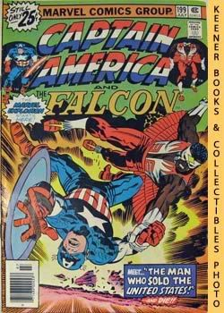 Image for Marvel Captain America And The Falcon (The Man Who Sold The United States! -- Vol. 1 No. 199, July 1976)