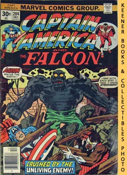 Image for Marvel Captain America And The Falcon (The Unburied One! -- Vol. 1 No. 204, December 1976)