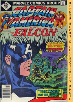 Image for Marvel Captain America And The Falcon (The Tiger And The Swine!! -- Vol. 1 No. 207, March 1977)