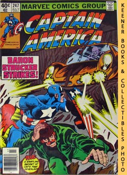 Image for Marvel Captain America (By The Dawn's Early Light! -- Vol. 1 No. 247, July 1980)