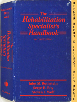 Image for The Rehabilitation Specialist's Handbook