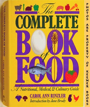 Image for Complete Book Of Food (A Nutritional, Medical, And Culinary Guide)