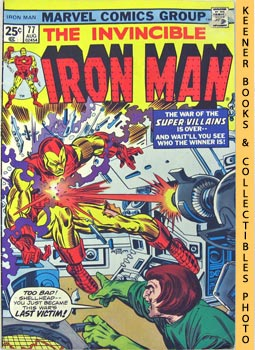 Image for The Invincible Iron Man (I Cry: Revenge! -- Vol. 1 No. 77, August 1975)