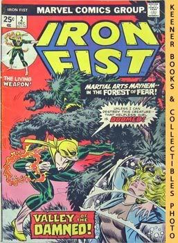 Image for Iron Fist (Valley Of The Damned! -- Vol. 1 No. 2, December 1975)
