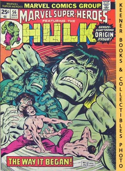 Image for Marvel Super - Heroes Featuring The Hulk (This World Not His Own! -- Vol. 1 No. 56, March 1976)