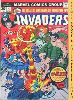 Image for The Invaders (U - Man Must Be Stopped! -- Vol. 1 No. 4, January 1976)