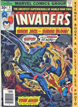 Image for The Invaders (An Invader No More! -- Vol. 1 No. 9, October 1976)