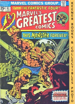 Image for Marvel's Greatest Comics Starring The Fantastic Four (A Monster Forever? -- Vol. 1 No. 61, January 1976)