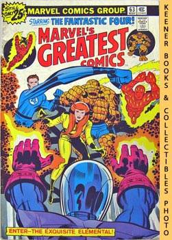 Image for Marvel's Greatest Comics Starring The Fantastic Four (Enter - - The Exquisite Elemental! -- Vol. 1 No. 63, May 1976)