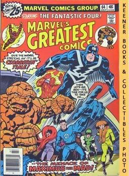 Image for Marvel's Greatest Comics Starring The Fantastic Four (The Mark Of -- The Madman! -- Vol. 1 No. 64, July 1976)