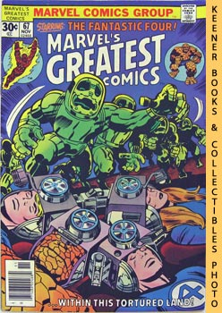 Image for Marvel's Greatest Comics Starring The Fantastic Four (Within This Tortured Land -- Vol. 1 No. 67, November 1976)