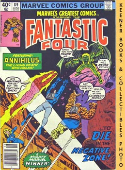 Image for Marvel's Greatest Comics Starring The Fantastic Four (Death In The Negative Zone! -- Vol. 1 No. 80, June 1980)